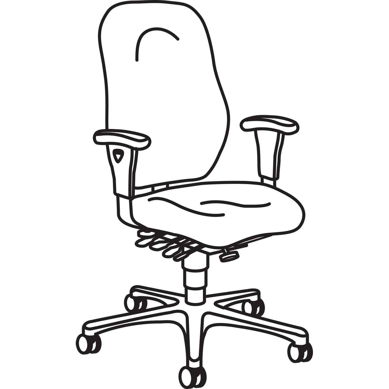 7800 series high performance high back executive task chair by hon