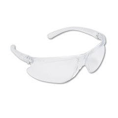 Honeywell Uvex™ Spartan 400 Series Wraparound Safety Glasses, Clear Plastic Frame, Clear Lens