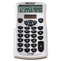 Victor® 1170 Handheld Business Calculator w/Slide Case, 10-Digit LCD