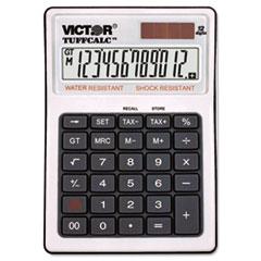 Victor® TUFFCALC Desktop Calculator, 12-Digit LCD