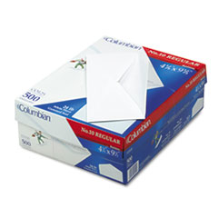 Gummed Flap Business Envelope, #10, Bankers Flap, Gummed Closure, 4.13 x 9.5, White, 500/Box