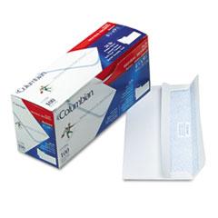 Columbian® #10 Self-Seal Business Envelope, Commercial Flap, Self-Adhesive Closure, 4.13 x 9.5, White, 100/Box
