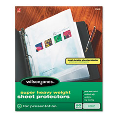 Wilson Jones® Super Heavy Sheet Protectors Thumbnail