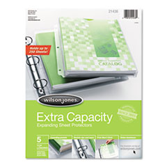 Wilson Jones® Extra Capacity Sheet Protectors Thumbnail