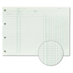 Wilson Jones® End Balance Ledger Form Thumbnail
