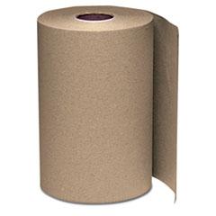 Windsoft® Hardwound Roll Towels, 8 x 350 ft, Natural, 12 Rolls/Carton