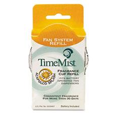 TimeMist® Fragrance Cup Refills, Acapulco Splash, 1 oz, 12/Carton