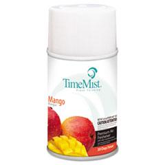 TimeMist® Premium Metered Air Freshener Refill, Mango, 6.6 oz Aerosol, 12/Carton