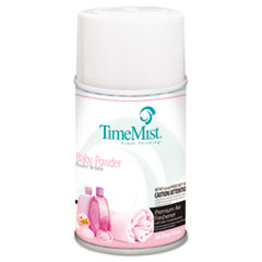 TimeMist® Metered Fragrance Dispenser Refill, Baby Powder, 6.6 oz, Aerosol TMS1042686EA
