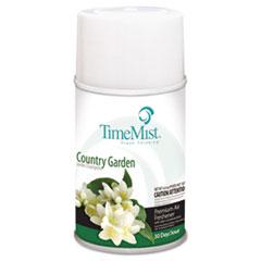 TimeMist® Premium Metered Air Freshener Refill, Country Garden, 6.6 oz Aerosol, 12/Carton