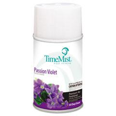 TimeMist® Premium Metered Air Freshener Refill, Passion Violet, 6.6 oz Aerosol, 12/Carton