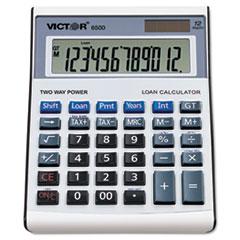 Victor® 6500 Executive Desktop Loan Calculator, 12-Digit LCD