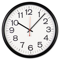 Universal® Indoor/Outdoor Round Wall Clock