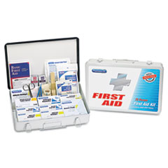 PhysiciansCare® by First Aid Only® First Aid Kit for up to 75 People, Metal, 419 Pieces/Kit