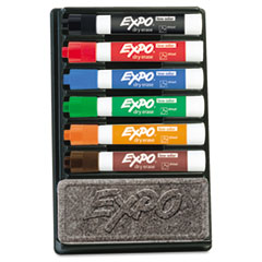 EXPO® Low-Odor Dry Erase Marker and Organizer Kit Thumbnail