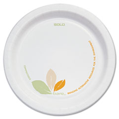 Dart® Bare® Eco-Forward® Paper Dinnerware Perfect Pak®
