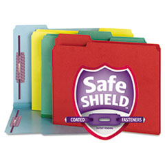 Smead® Colored Pressboard Fastener Folders with SafeSHIELD® Coated Fasteners Thumbnail