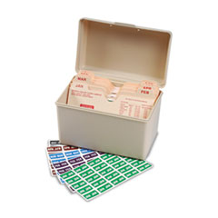 Smead® Monthly End Tab File Folder Labels Thumbnail