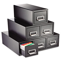 SteelMaster® Drawer Card Cabinet