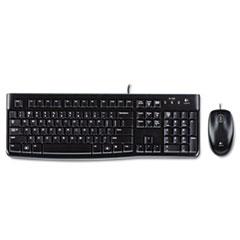 Logitech® MK120 Wired Keyboard + Mouse Combo Thumbnail