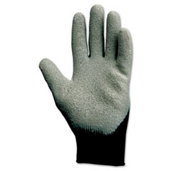 KleenGuard™ G40 Latex Coated Poly-Cotton Gloves, 250 mm Length, Large/Size 9, Gray, 12 Pairs