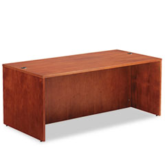 Alera® Alera Verona Veneer Straight Front Desk Shell, 71w x 35-1/2d x 29-1/2h, Cherry