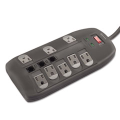 Innovera® Surge Protector, 8 Outlets, 6 ft Cord, 2160 Joules, Black