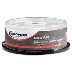 Innovera® DVD-RW Rewritable Disc Thumbnail