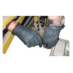 Impact® ProGuard Disposable Nitrile Gloves, Powder-Free, Black, X-Large, 100/Box