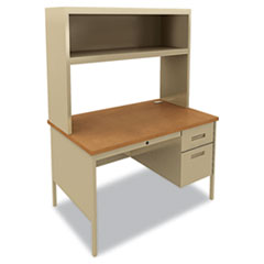 HON® Metro Classic Series Single Pedestal Desk Thumbnail