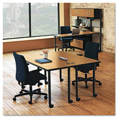 HON® Huddle Series Post Leg Table Base Thumbnail