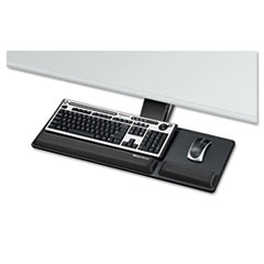 Designer Suites Compact Keyboard Tray, 19w x 9 1/2d, Black