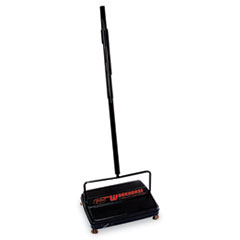 """Franklin Cleaning Technology® Workhorse Carpet Sweeper, 46"""" Handle, Black"""