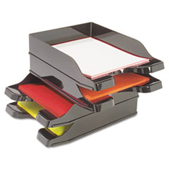 deflecto® Docutray® Multi-Directional Stacking Tray Set