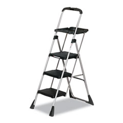 "Cosco® Max Work Platform, 55"" Working Height, 225 lbs Capacity, 3 Step, Black"