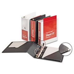 Cardinal® SuperStrength™ ClearVue™ Locking Slant-D® Ring Binder