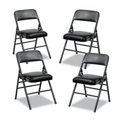Cosco® Deluxe Vinyl Padded Series Folding Chair Thumbnail
