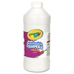 Crayola® Artista II Washable Tempera Paint, White, 32 oz