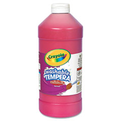 Crayola® Artista II Washable Tempera Paint, Red, 32 oz