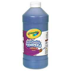Crayola® Artista II Washable Tempera Paint, Blue, 32 oz