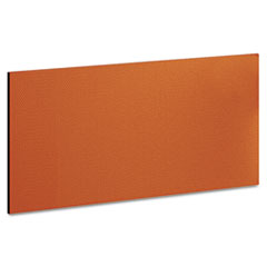 "Momentum Collection Tackboard for 36"" Hutch, 30-7/8w x 5/8d x 14-7/8, Tangerine"