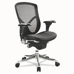 Alera® EQ Series Ergonomic Multifunction Mid-Back Mesh Chair Thumbnail