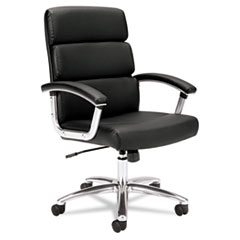 HON® Traction™ Executive High-Back Leather Chair Thumbnail