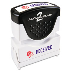 ACCUSTAMP2® Pre-Inked Shutter Stamp