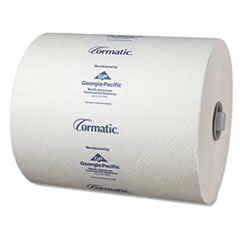 Georgia Pacific® Professional Hardwound Roll Towels, 8 1/4 x 700ft, White, 6 Rolls/Carton