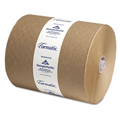 Georgia Pacific® Professional Hardwound Roll Towels, 8 1/4 x 700ft, Brown, 6/Carton