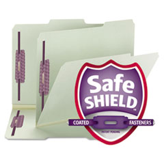 Smead® Expanding Recycled Pressboard Folders With SafeSHIELD® Coated Fasteners Thumbnail
