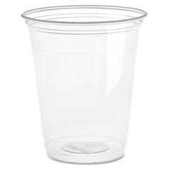 Dart® Ultra Clear Cups, Squat, 16 oz, PET, 50/Bag, 1000/Carton