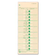 TOPS® Time Clock Cards
