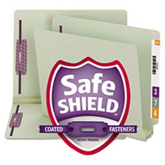 Smead® End Tab Expansion Pressboard File Folders With SafeSHIELD® Coated Fasteners Thumbnail